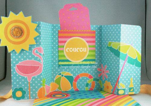 Z Fold Card_Summer Poolside_Cindy Major_inside