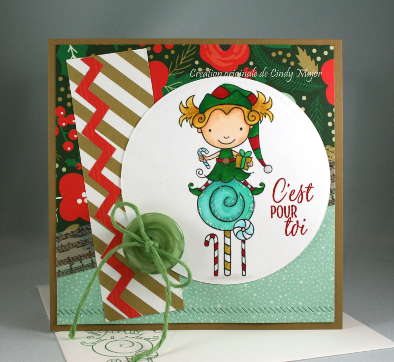 Lily Candy Elf_Deck the Halls_Cindy Major