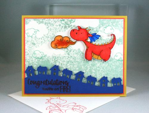 Magical Dragons_Little Town Border_Cindy Major