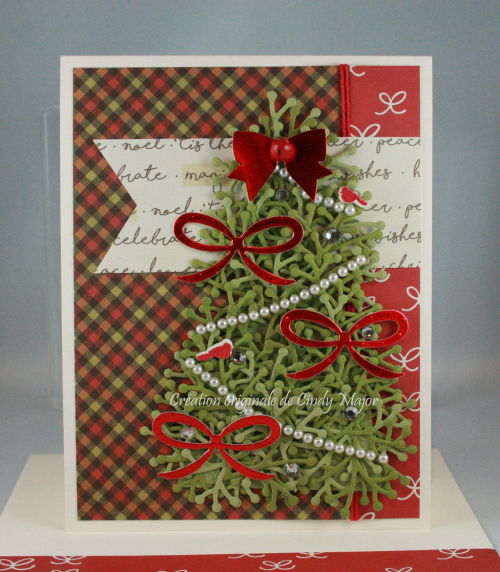 Classic Christmas Simple Stories_Christmas Tree with Bows_Cindy Major