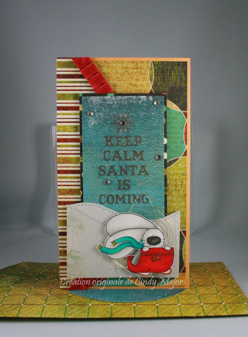 Santa is Coming_Basic Grey Papers_Cindy Major
