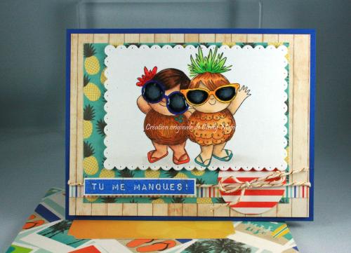 Tropical Squidgies_Beach Day Carta Bella_Cindy Major