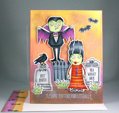 Grave Situation_Frightful Friends_Distress Oxide Inks_Cindy Major