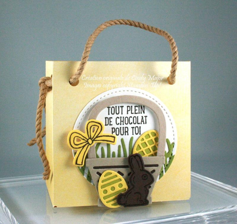Yellow Easter Gift Basket_Cindy Major