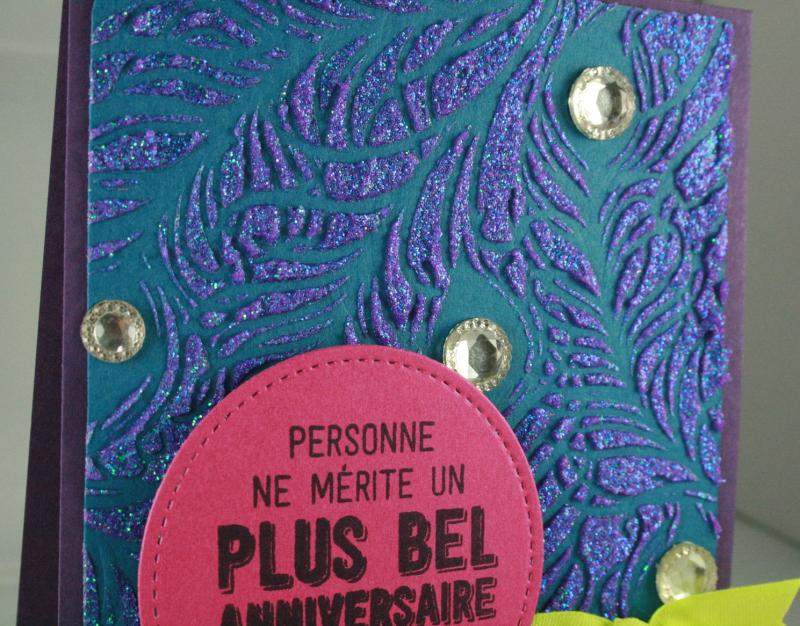 Peacock Feather Stencil_Balloon Adventure_Cindy Major_close up