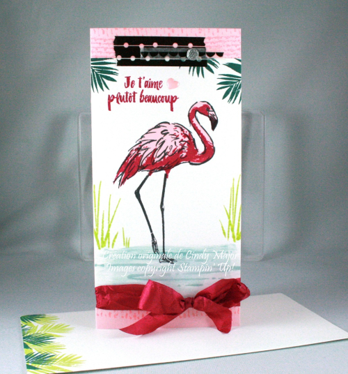Fabulous Flamingo_Burlap_Cindy Major