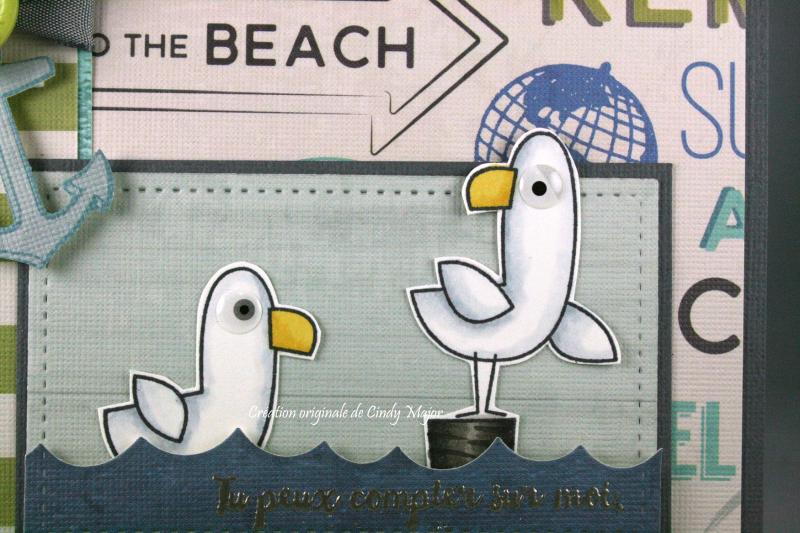 Seaside Seagulls_Seaglass_Cindy Major_close up
