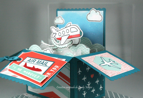 Plane and Simple_Scalloped Card Box Pop-Up_Sent with Love DSP_Cindy Major_right side