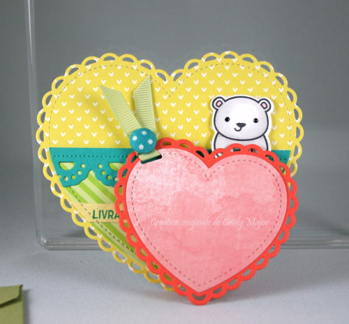 Lacy Heart Stackables_For You Deer_Conversation Heart Add-On_Cindy Major