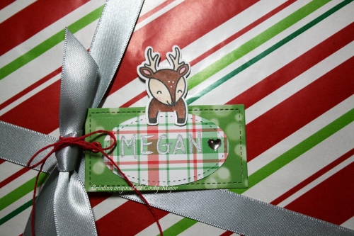 For You Deer Tag_Cindy Major