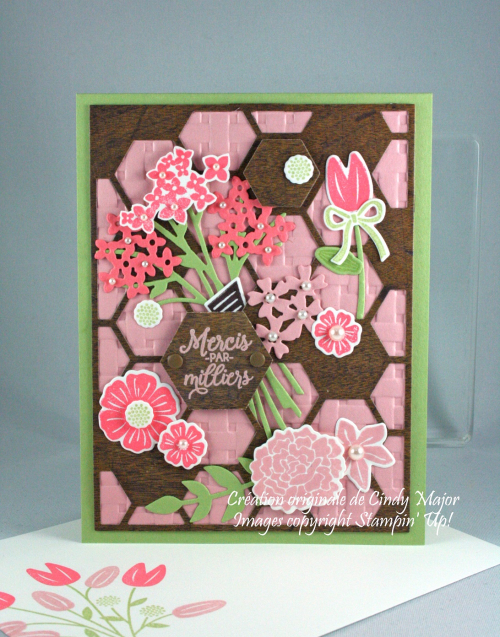 Hexagon Hive_Beautiful Bouquet_Wood Textures_Cindy Major
