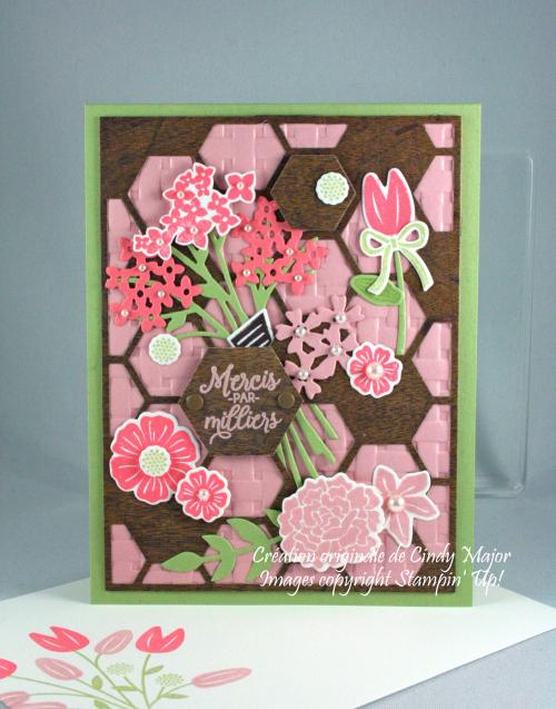 Hexagon Hive_Beautiful Bouquet_Wood Textures_Cindy Major