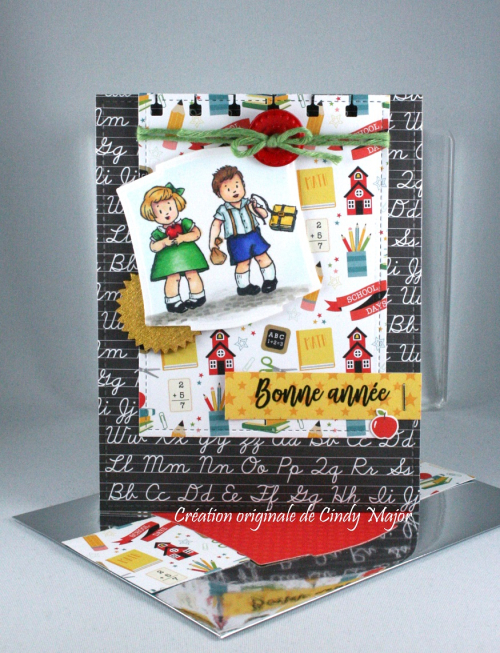 Greeting Card Kids_Back to School Echo Park_Cindy Major