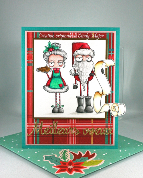 Santa and the Missus_Polychromos_Jingle All the Way_Cindy Major