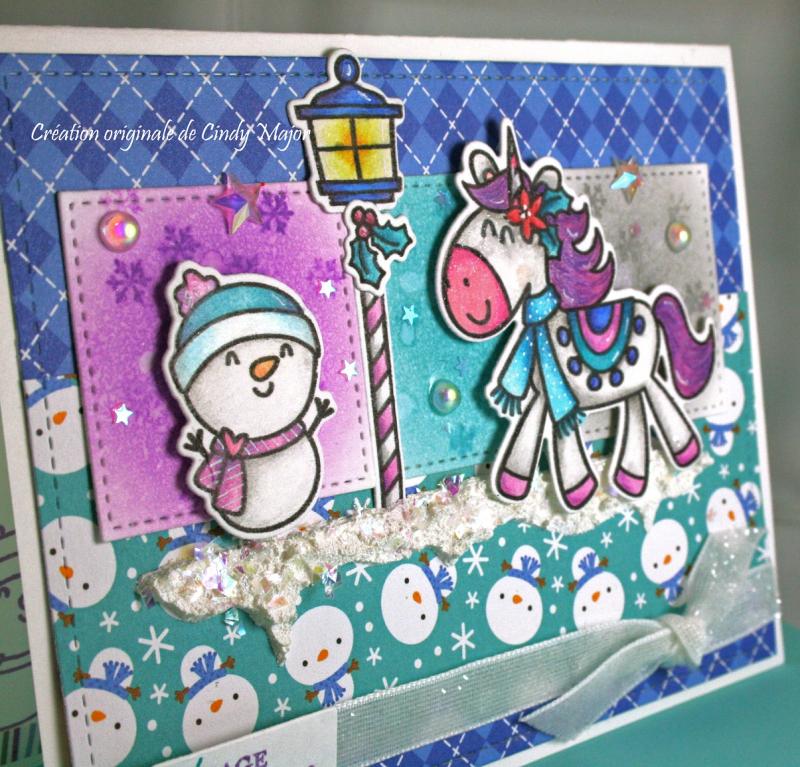 Christmas Magic_Polar Pals Doodlebug_close up