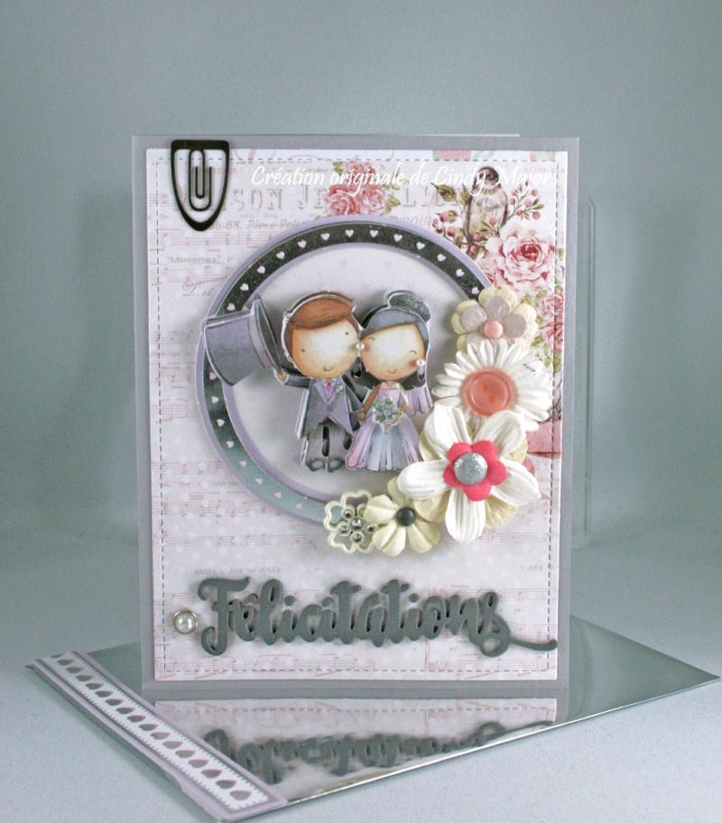Wedding Paper Tole_Santa Baby Prima_Cindy Major