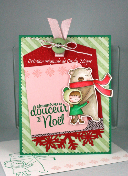 Holiday Hugs_Diagonal Stripe_Cindy Major