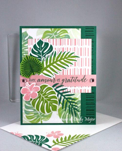Tropical Chic_Pink Rhinestone Gems_Cindy Major