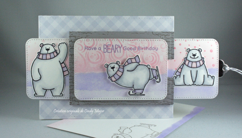 Polar Bear Pals_Gotta Have Gingham_Cindy Major_opened