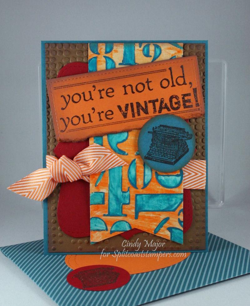 Youre vintage_Distress Crayons_Cindy Major