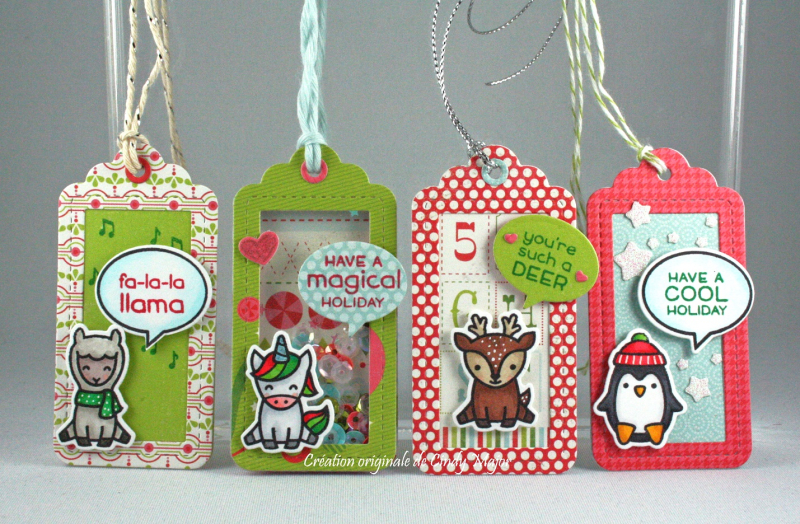 Say What Christmas Critters_Merry & Bright_Cindy Major