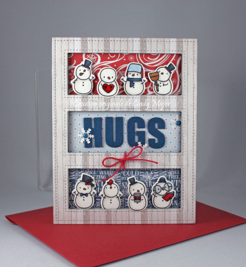 Little Snowman Agenda_I Love Winter_Tri Window Cover_Cindy Major
