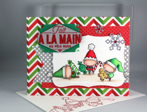 Elves with Treats_Doodlebug papers_Cindy Major