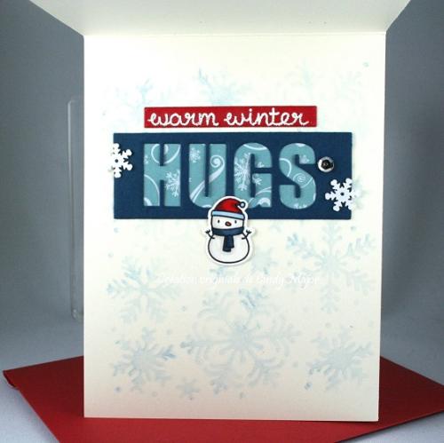 Little Snowman Agenda_I Love Winter_Tri Window Cover_Cindy Major_inside