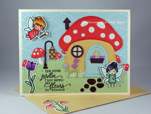 Mushroom House_Fairy Friends_Cindy Major