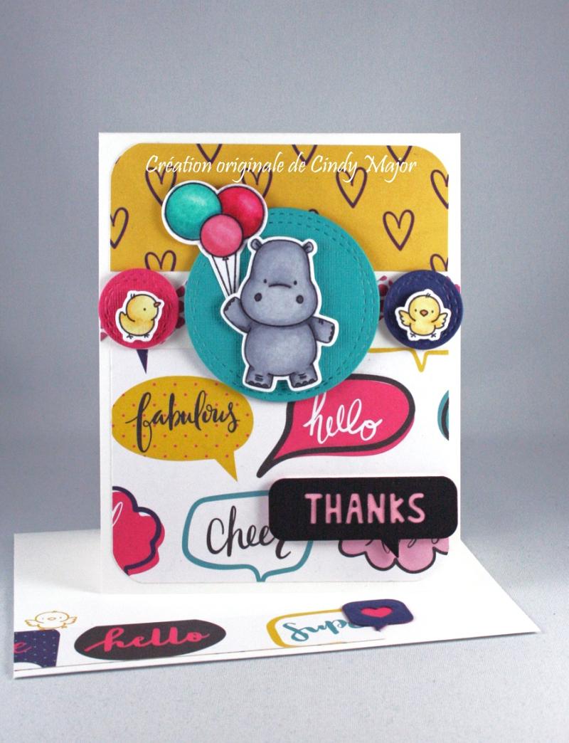 Happy Hippos_Glitter Girl Shimelle_Cindy Major