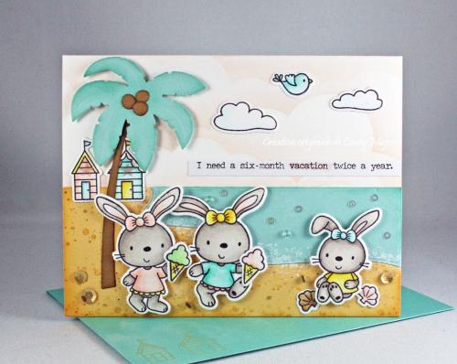 Beach Bunnies_Cloud Stencil_Cindy Major