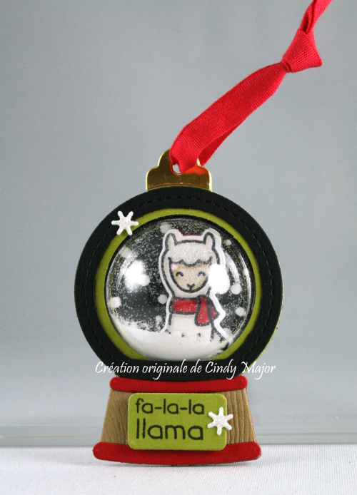 Snow Globe_llama_Cindy Major