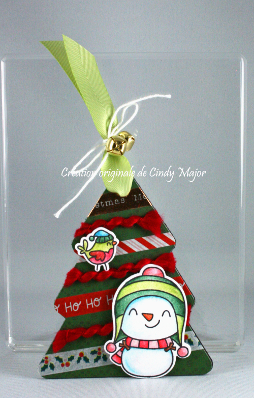 Stitched Christmas Tree Frames_Snow Fun_Cindy Major