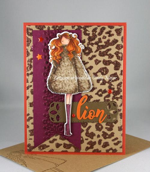 Leo Uptown Zodiac Girl_Cheetah_Cindy Major