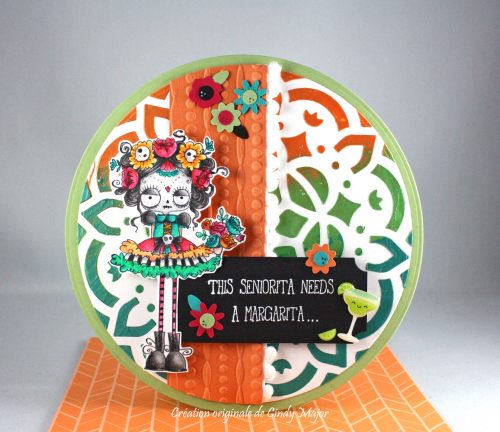 Day of the Dead Oddball_texture paste_Cindy Major
