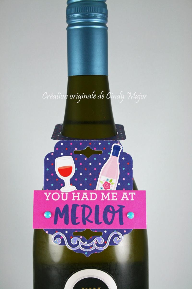 You Had Me at Merlot Wine Tag