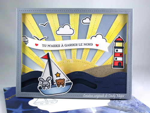 Sunrise Backdrop_Smooth Sailing_Stitched Rectangle Frames_Cindy Major