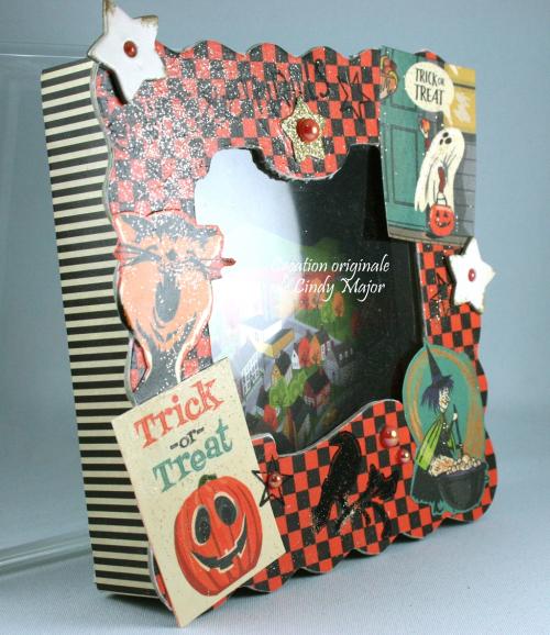 Merry Halloween Carta Bella Chipboard Box_Cindy Major