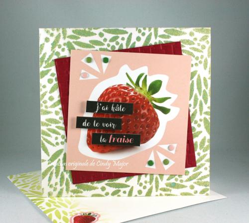 Hate de te voir la fraise_Cindy Major