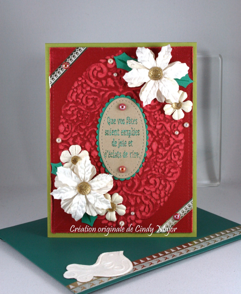 Holiday Frame_Core'dinations_Prima Flowers