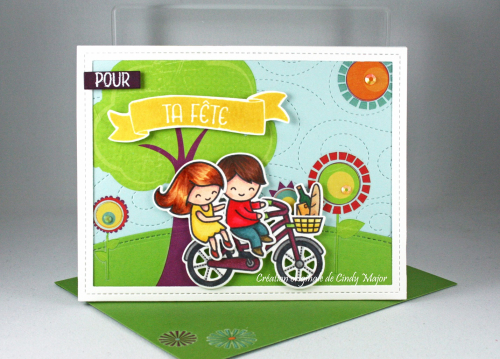 Bicycle Built for You_Sunshiny Day_Cindy Major