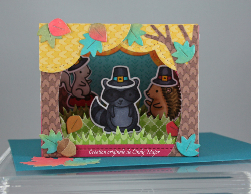 Forest Feast_Shadow Box Card Park_Cindy Major_1