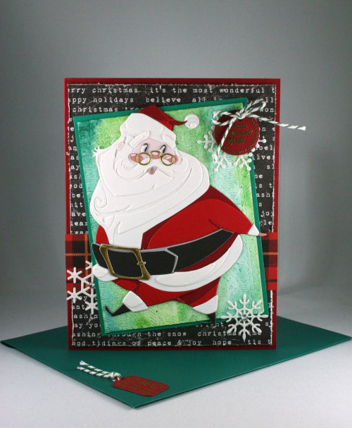 Jolly St Nick_Christmas Papers_Stitches Plate_Cindy Major