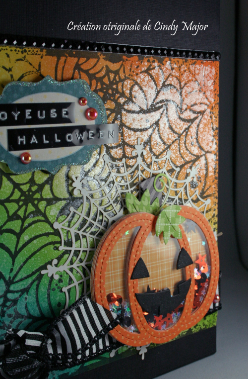 Stitched Pumpkin Frame_Spooky Spiderwebs_Cindy Major