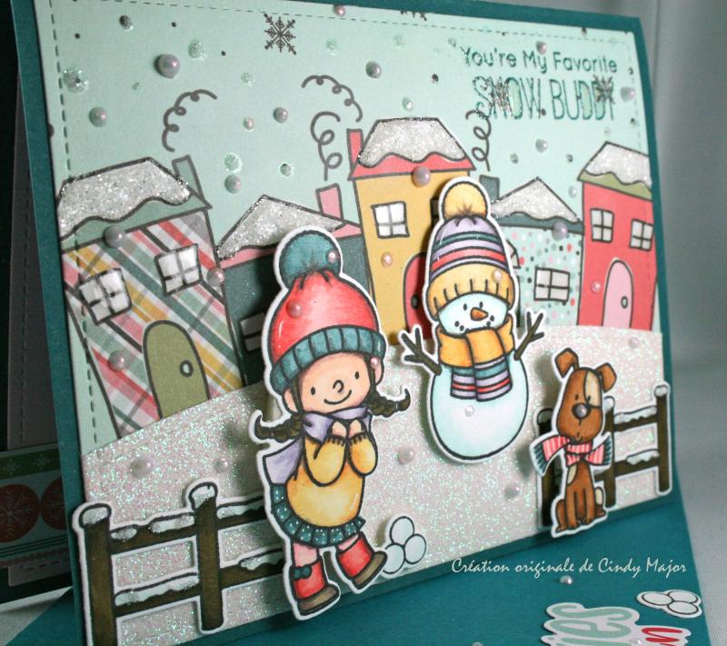 Snow Buddies_Freezin Season_Cindy Major_close up