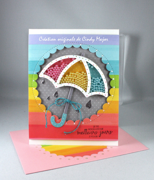 Stitched Umbrella_Really Rainbow_Resplendissante_Cindy Major