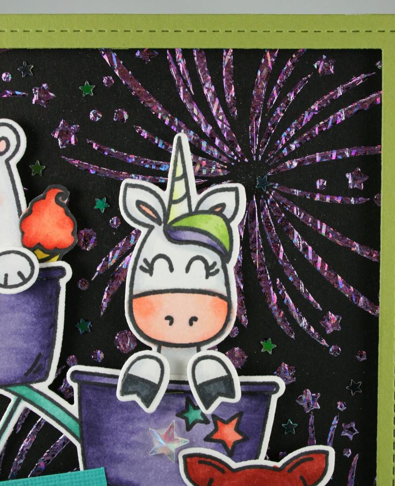 Peek-a-Boo Fair_Fireworks Stencil_Cindy Major_closeup