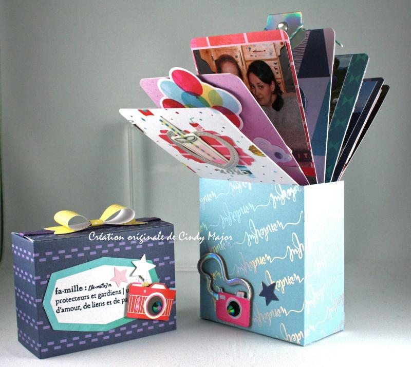 Sparkle City Mini Fan in a Box Album_3