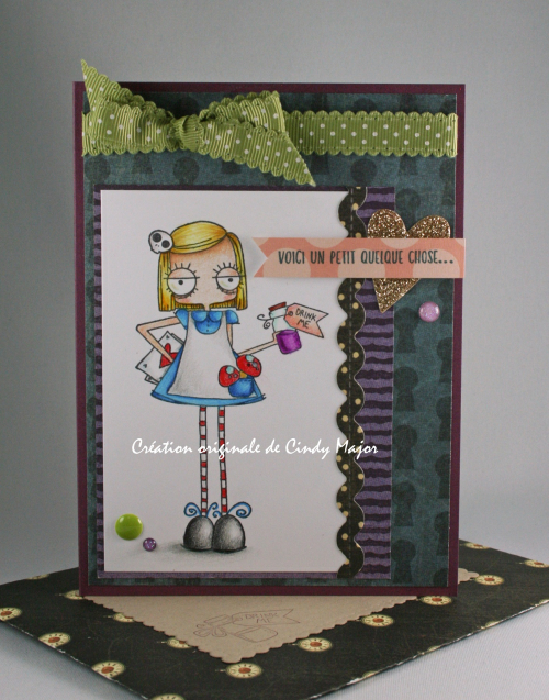 Oddball Alice in Wonderland_Halloween in Wonderland Graphic 45_Cindy Major