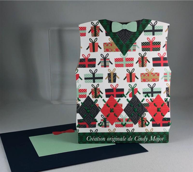 Deck the Halls Sweater Vest_Cindy Major